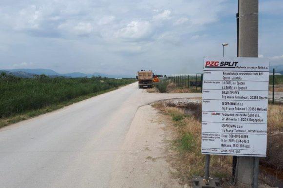 Grad Opuzen započeo je sa realizacijom projekta Rekonstrukcije nerazvrstane ceste NC97 – Jasenska