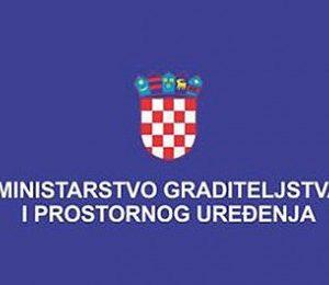 Ministarstvo graditeljstva i prostornoga uređenja sufinancira izgradnju sekundarne kanalizacijske mreže