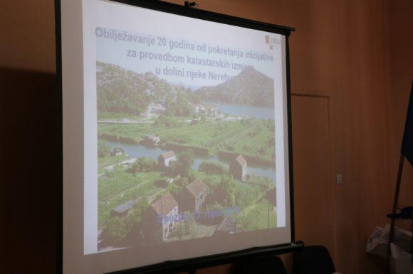 Obilježena dvadeseta godišnjica pokretanja inicijative za provedbom katastarskih izmjera i obnovom zemljišnih knjiga na području doline rijeke Neretve