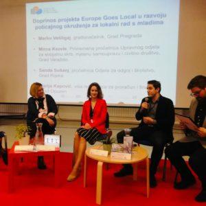 """Održana završna konferencija pod nazivom """"Rad s mladima na lokalnoj razini: rezultati i preporuke"""""""