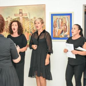 Izložba slikara Ante Dragobratovića – Retrospektiva 50. godišnjeg rada