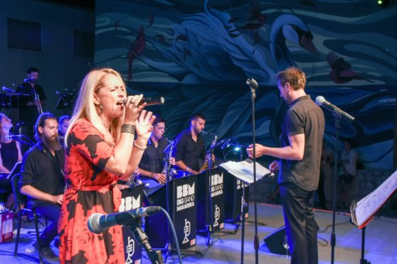 Koncert Big Band Makarska na opuzenskoj pjaci