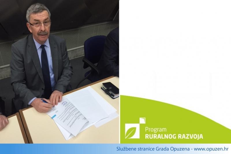"Potpisan Ugovor o financiranju projekta ""Rekonstrukcije nerazvrstane ceste NC97 – Jasenska"""